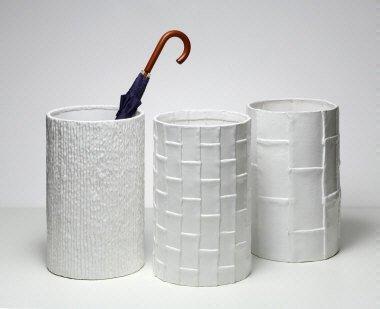 3 Portaombrelli in ceramica