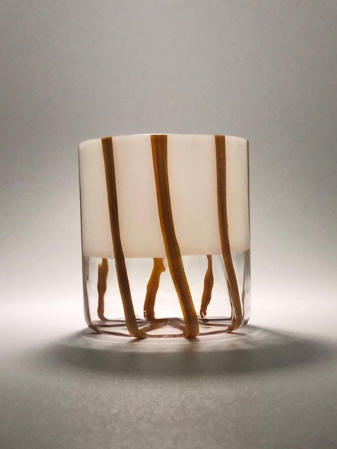 Bicchiere in vetro soffiato Mezzo & Milk