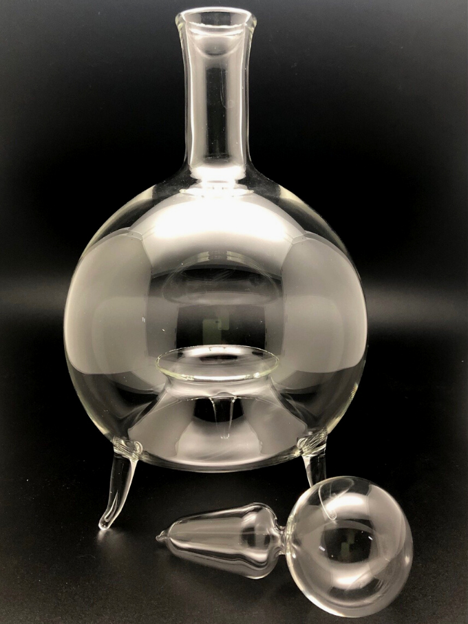 Moscarola in vetro soffiato antico oggetto indispensabile